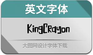 KingCrayon(英文字体)
