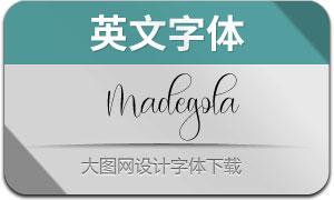 Madegola(英文字体)
