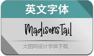 MadisonsTail(英文字体)