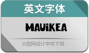 MAUIKEA(英文字体)