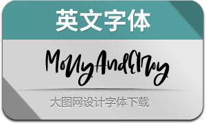 MollyAndElroy(英文字体)