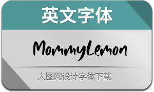 MommyLemon(英文字体)