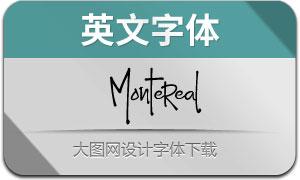 Montereal(英文字体)