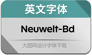 Neuwelt-Bold(英文字体)