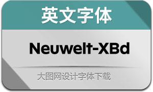 Neuwelt-ExtraBold(英文字体)