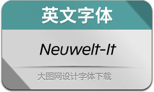 Neuwelt-Italic(英文字体)
