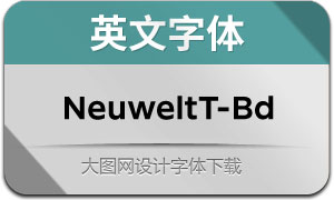 NeuweltText-Bold(英文字体)