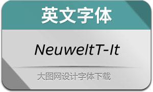 NeuweltText-Italic(英文字体)