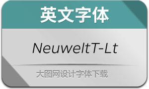 NeuweltText-LightItalic(с╒ндвжСw)