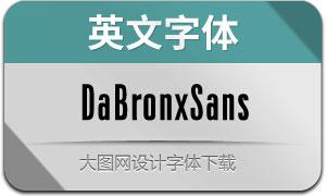 DaBronxSans系列12款英文字体
