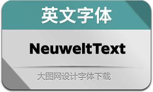 NeuweltText系列16款英文字体