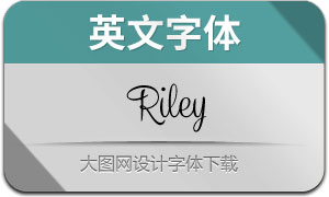 Riley-Regular(英文字体)