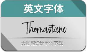 Thomastane(英文字体)