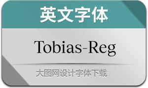 Tobias-Regular(英文字体)