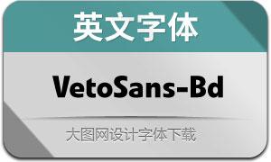 VetoSans-Bold(英文字体)