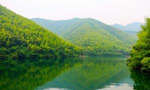 青山绿水美丽景观摄影图片