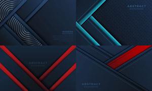 几何线条抽象背景创意设计矢量素材