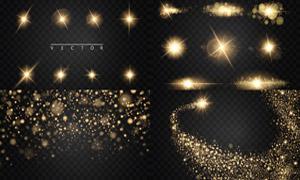 光源光效设计元素主题矢量素材集V26