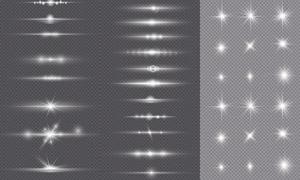光源光效设计元素主题矢量素材集V28