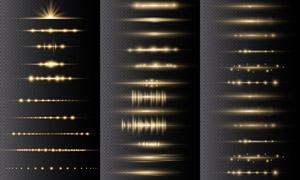 光源光效设计元素主题矢量素材集V29