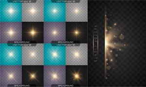 光源光效设计元素主题矢量素材集V30