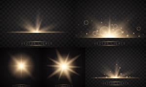 光源光效设计元素主题矢量素材集V31