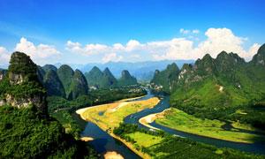 美丽的桂林山水高清摄影图片