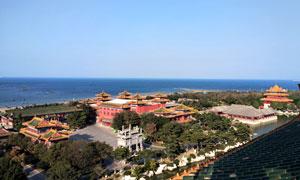 烟台蓬莱三仙山旅游摄影图片