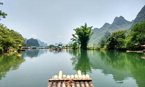 美麗的桂林山水高清攝影圖片