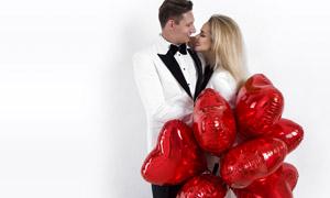 情人节浪漫的爱人主题摄影高清图片