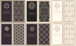 裝飾適用幾何花紋圖案主題矢量素材