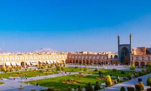 伊斯法罕伊玛目广场高清摄影图片