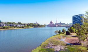 马来西亚布城城市风光高清摄影图片