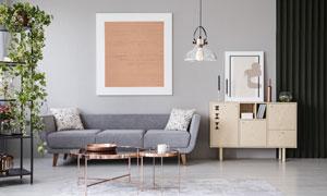 房间沙发装饰画等室内陈设高清图片