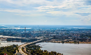 芬蘭首都赫爾辛基風光攝影高清圖片