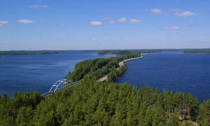 芬蘭的圖爾庫自然風光攝影高清圖片
