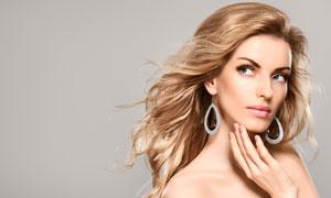 美容美发模特美女人物摄影高清图片