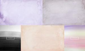 水彩墨跡元素底紋背景設計矢量素材