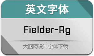Fielder-Regular(英文字体)