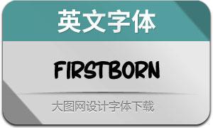 Firstborn-Brush(英文字体)