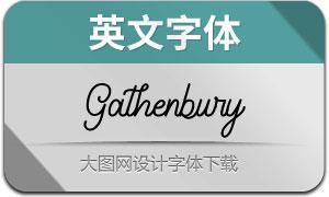 GathenburyTypeface(英文字体)