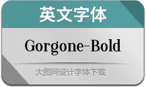 Gorgone-Bold(英文字体)