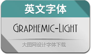 Graphemic-Light(英文字体)