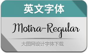 Motira-Regular(英文字体)