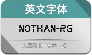 Nothan-Regular(英文字体)