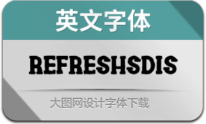 RefreshScreenDisplay(英文字体)