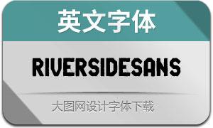 RiversideSans(英文字体)