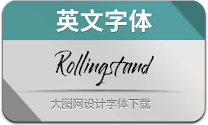 Rollingstand(英文字体)