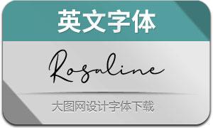 Rosaline(英文字体)