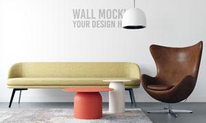 室内墙壁装饰壁纸贴图模板分层素材
